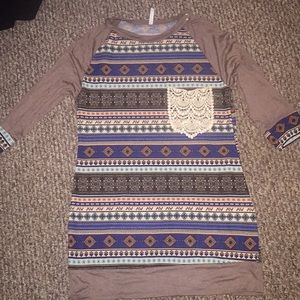 Lightweight sweater dress!